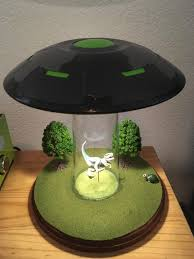 I Just Finished This Ufo Abduction Lamp Pics