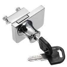 Buy Single/Double Glass Cabinet Door Lock Cam Key Showcase Display ...
