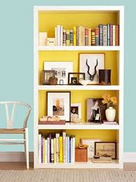 16 DIY Projects (You'll Actually Want to Make. Painted BookshelvesYellow ...