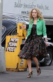 Carrie Bradshaw Young Carrie Bradshaw On Set Fashionista Or Fashion Roadkill Pic