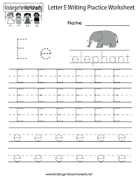 Handwriting Practice Worksheets For K Kindergarten – deffufa.info