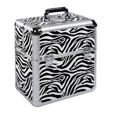 zebra makeup box
