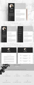 5 Page Resume Template Blackie Resume Cv Templates Resume