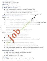Resume For Supervisor Job Supervisor Resume Sample Supervisor Resume Template 17