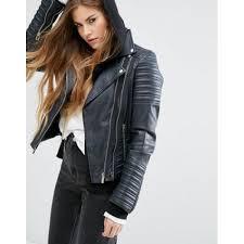 goosecraft vintage look leather biker jacket women s leather jacket mp5knfffsftgeq