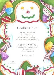 New Funny Christmas Party Invitations For Popular Sweets Gingerbread
