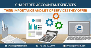 Charted Accountant All Chartered Accountant Services Their Importance