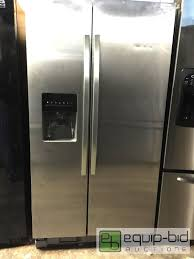 kenmore 51833. kenmore 51123 25 cu ft side by refrigerator stainless steel home appliance auction equip bid 51833