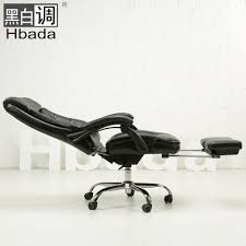 office chair footrest. comfortable ergonomic leather executive office chair lift swivel computer reclining footrest lying sedie ufficio -in chairs from