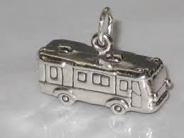 rv cer motorhome sterling silver charm 925 x