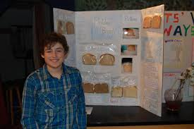 great barrington rudolf steiner students to showcase science fair  child standing in front of moldy b science fair project