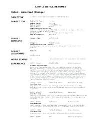 Career Objectives Resumes Job For Good In A Resume Objective Sample
