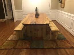 Redwood Slab Dining Table Dining Table Wood Slab Dining Table Wood Slab Trestle Table Live