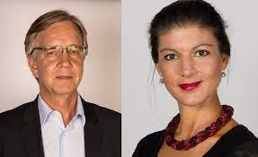She was previously married to. Fichier Dietmar Bartsch Sahra Wagenknecht Png Wikipedia