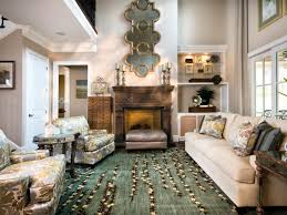 Living Room, Elegant Living Rooms With Fireplace And Carpet And Sofa With  White Door And