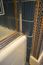 how to remove an old sliding shower door