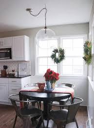 edison pendant light kitchen industrial with barstool black