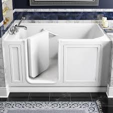 american standard walk in bathtub with whirlpool jet massage. walk-in baths - 28 inch by 48 whirlpool white american standard walk in bathtub with jet massage t