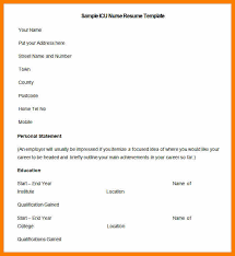 7 Bsc Nursing Resume Format For Freshers Weekly Template