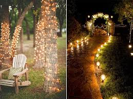 outside wedding lighting ideas. Outdoor Wedding Lighting Ideas. Creative Ideas Reception Makeovers For A G Outside