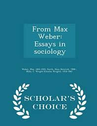 from max weber essays in sociology by weber max abebooks from max weber essays in sociology max weber
