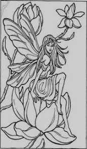14 Awesome Fairy Coloring Pages Kantame