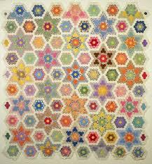 219 best Quilting: Hexagons & EPP images on Pinterest | Hexagon ... & Grandmother's Flower Garden Star Quilt – Week 3 Adamdwight.com