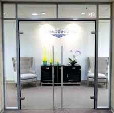 glass office door. Glass Office Doors Door Double Swing Locking With . R