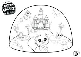Snow Globe Coloring Pages Share Christmas Colouring
