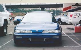 the integra was the first sporty offering from acura the then new upscale luxury brand from honda offered as 2 door hatchback that even in sedan form it