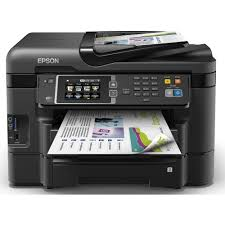 Epson Workforce Wf 3640dtwf A4 Colour Multifunction Inkjet Printer