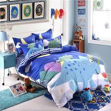 blue dinosaur comforter set twin queen size sjl 6 600x600 blue dinosaur comforter set twin