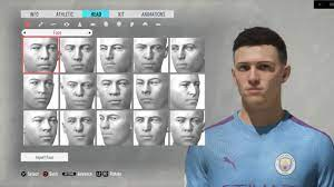Phil Foden FIFA 20 Pro clubs look alike tutorial   Manchester City    England   World class talent. - YouTube