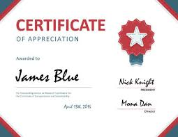 free templates for certificates of appreciation 8 free printable certificates of appreciation templates