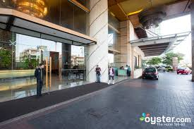entrance at the gardens hotel residences st giles grand hotel