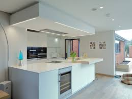 White Laminate Kitchen Worktops Bulthaup B3 Kitchen In Alpine White Laminate And Structured Oak