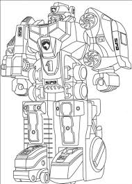 Robot Coloring Pages Free Online Printable