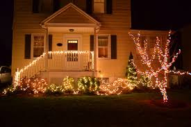 White Or Colored Christmas Lights On House In The Little Yellow House Outdoor Christmas Lights