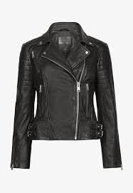 papin leather jacket black