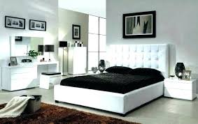 furniture bedroom sets black set queen bed cream