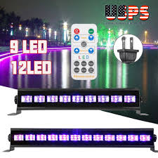 Black Light Usb Details About 18w 9 12led Uv Black Light Usb Bar Stage Disco Christmas Club Party Lamp Remote
