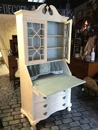 painted secretary desk hutch brilliant o and happy late are having the most spectacular cool secretary