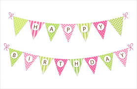 Banner Birthday Happy Birthday Banner Template Template Business