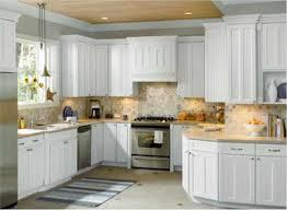 rectangle silver sink decor idea kitchen backsplash ideas for white cabinets black countertops white cabinet decor idea inexpensive white ideas cream tile