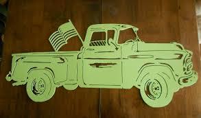 1955 chevy pickup truck metal wall art metal art car design ideas of metal car wall