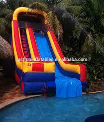 inflatable inground pool slide. Customized Inflatable Pool Slides For Inground Pools, Swimming Slide Alibaba