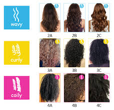 Curl Patterns Inspiration Natural Hair Types 4888A 4888B And 4888C