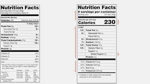 new f d a nutrition labels would make serving sizes reflect gatorade nutrition label