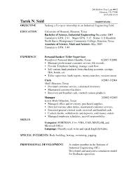 Bank Teller Job Resume Objective Teller Supervisor Job Description Delectable Bank Job Resume Objective