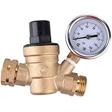 garden hose pressure regulator. Water Pressure Regulator, Brass Lead-free Adjustable RV Reducer With Guage And Inlet Screened Filter, 160 PSI Gauge, By Kepooman (Gauge) Garden Hose Regulator